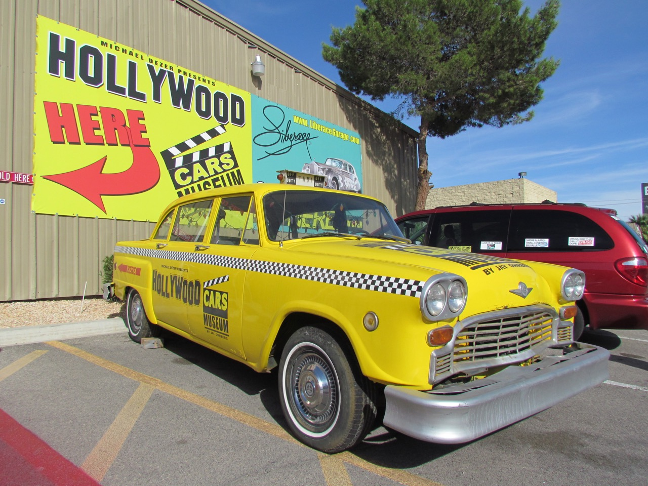 Leaving Las Vegas? Not until you visit the Hollywood Cars Museum ...