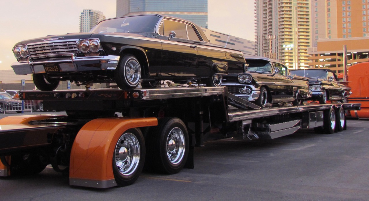 Chevy trio is an impressive site at SEMA