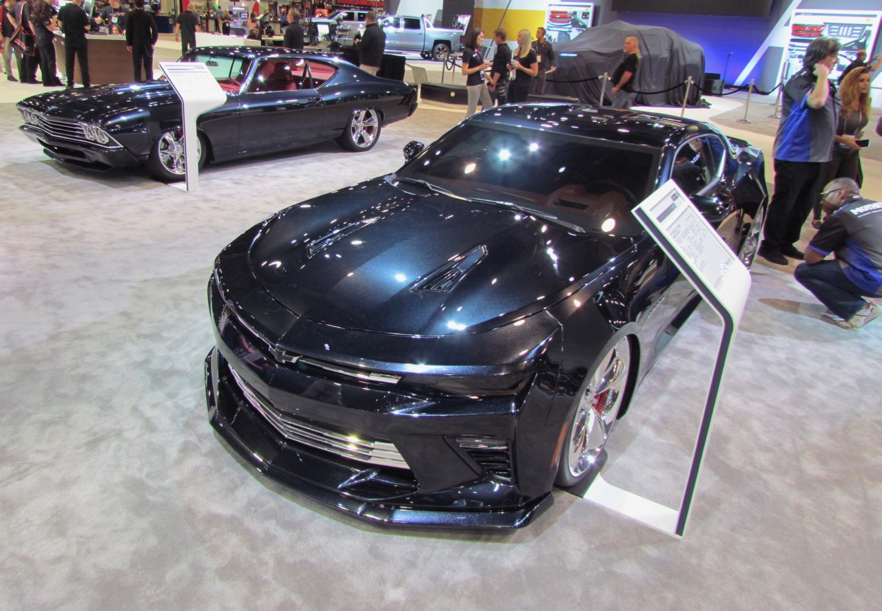 Camaro and Chevelle share paint, interior color, wheel designs and much more