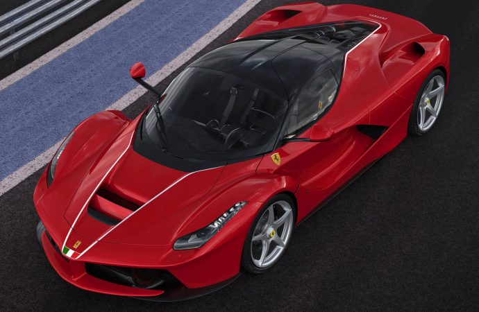 Last LaFerrari heads to charity auction this weekend