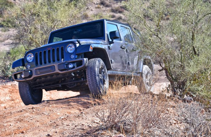 Driven (briefly): Spunky Spider, capable Ridgeline, limitless Jeep