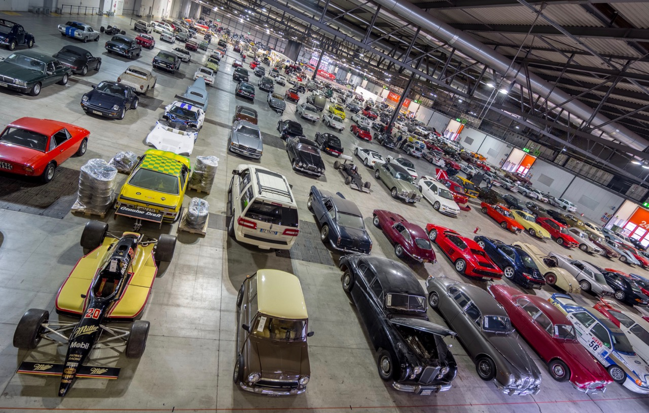 Auction fills a space the size of four football fields | RM Sotheby's photo by Simone Caldirola