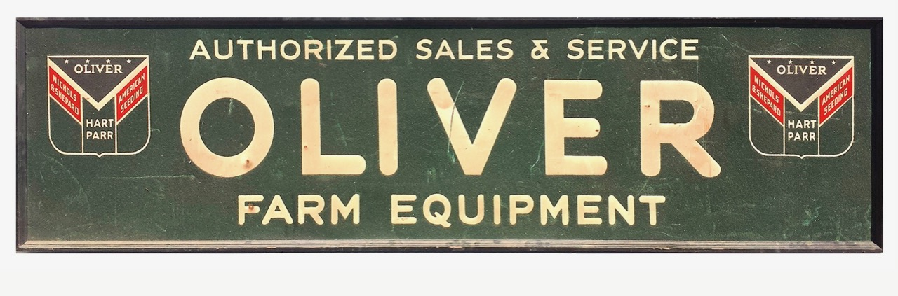 Rare Oliver sign sells for $37,500