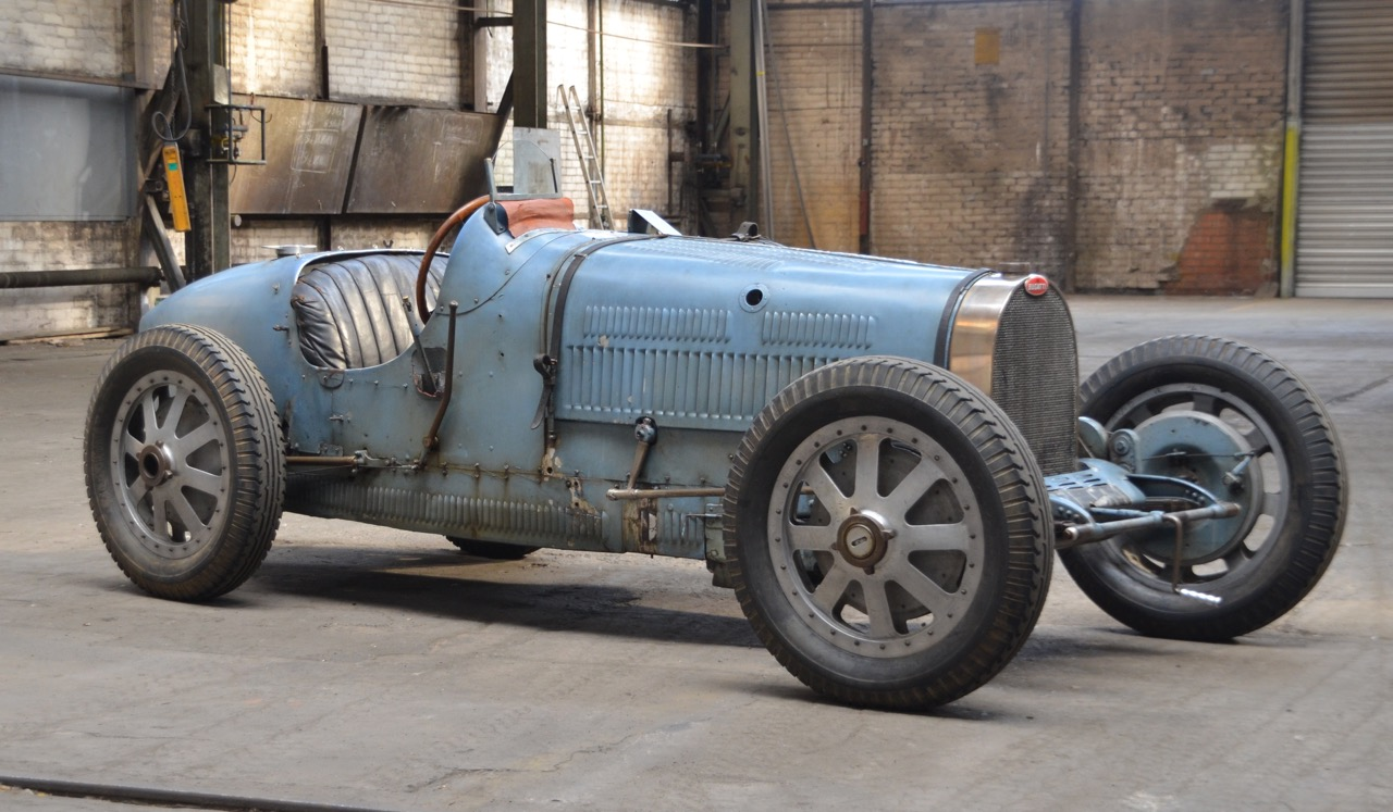 The Bugatti that won the first Monaco Grand Prix