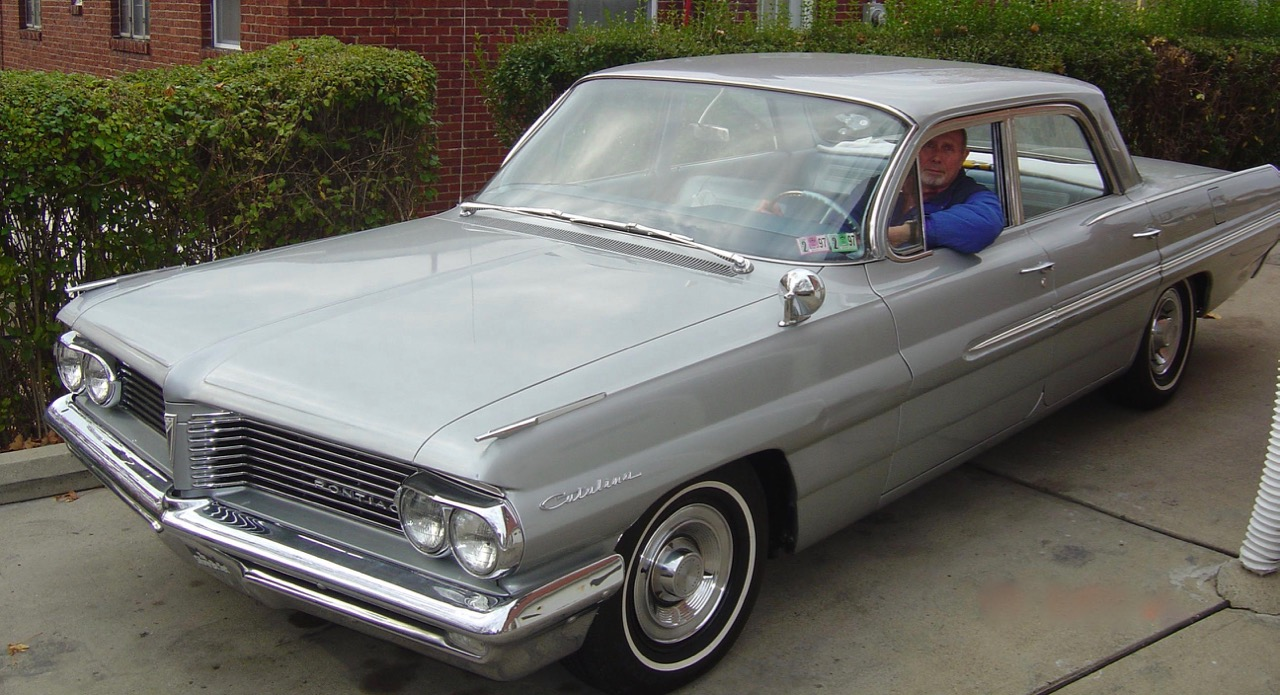 1962 Pontiac Catalina had been owned by father-and-son barbers