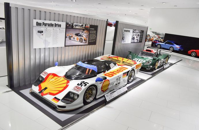 New 'Roadbook' exhibit at Porsche Museum