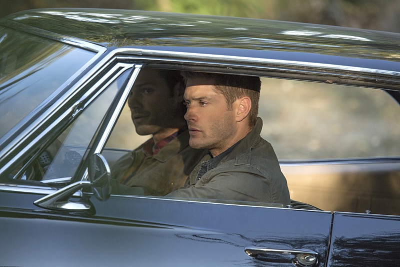 Supernatural Death Car