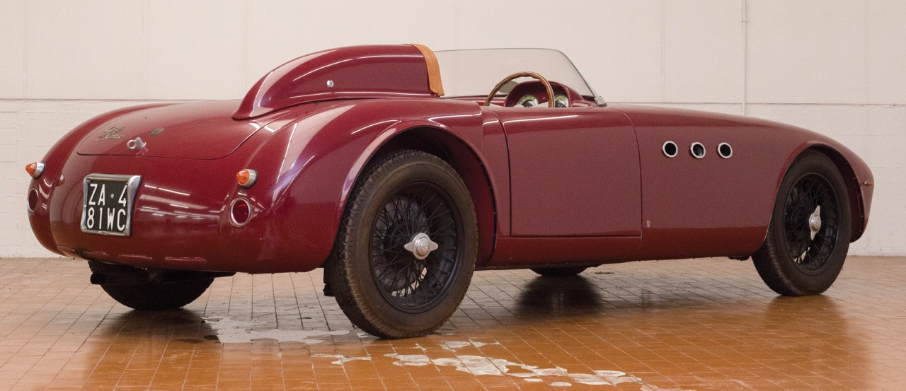 Auction docket includes this replica of a 1942 Alfa Romeo 412 Spider Vignale | RM Sotheby's photo