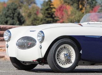 Austin Healey 100S racer set for Bonhams' Scottsdale auction