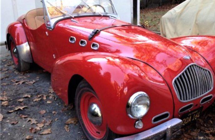 1952 Allard K2 roadster