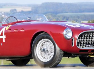 Historic 1952 Ferrari race car set for Bonhams' Scottsdale auction