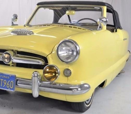 1955 Nash Metropolitan convertible