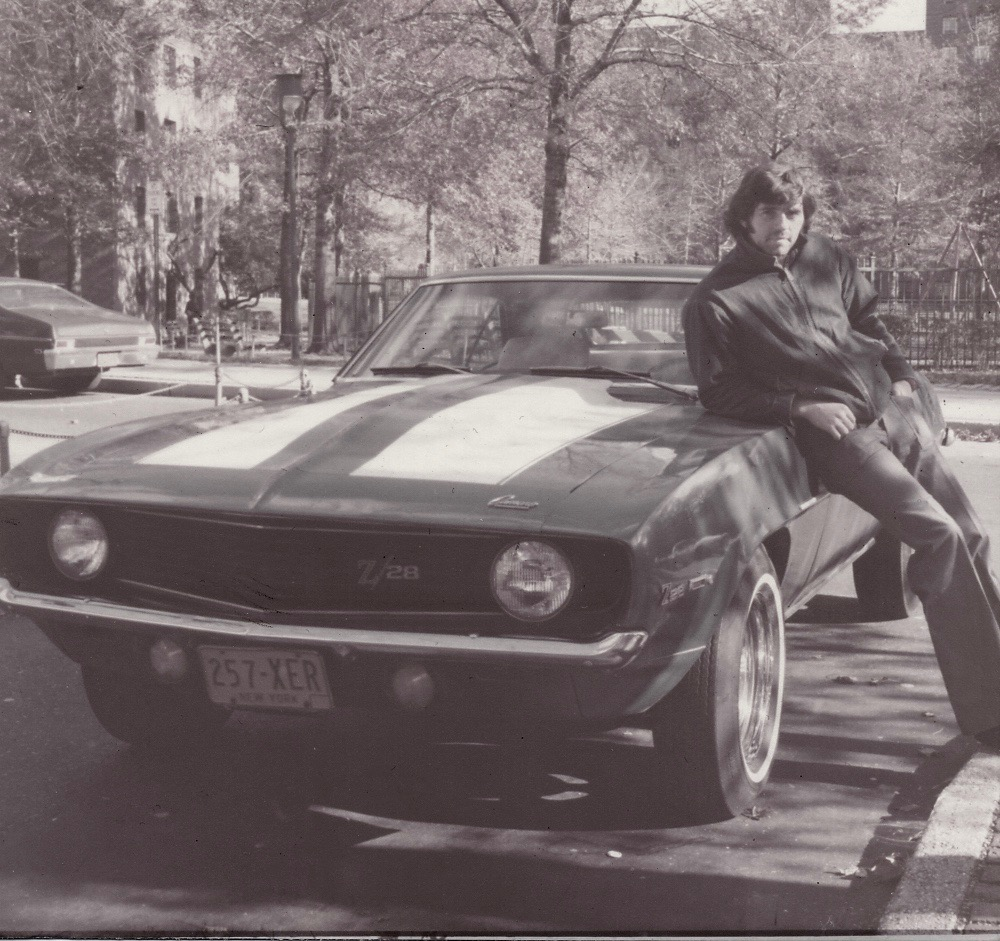 James and the Camaro in when it was new