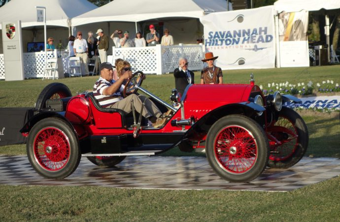 1914 Stutz Bearcat wins best of show at Hilton Head
