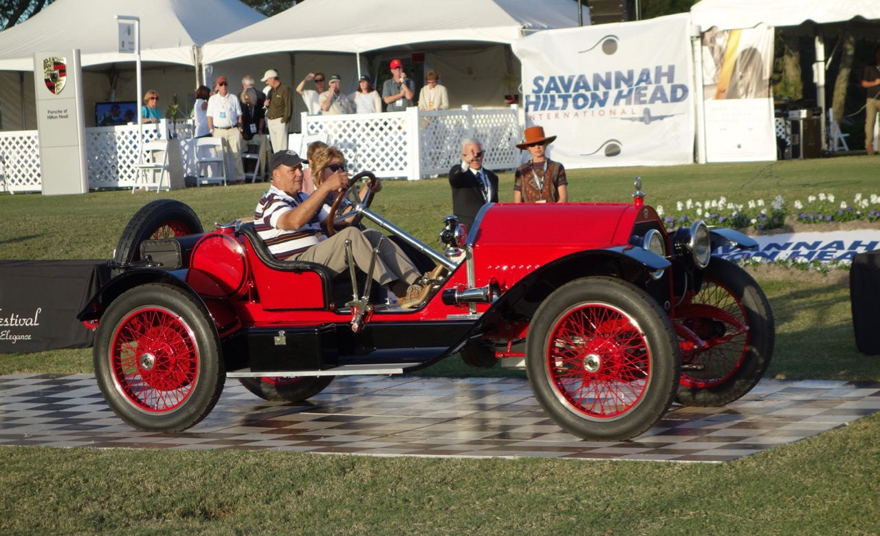 1914 stutz bearcat wins best of show at hilton head classiccars
