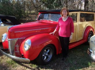 My Classic Car: Ron's 1940 Ford Deluxe woodie wagon