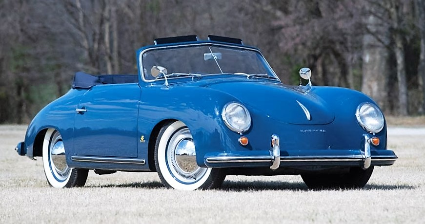 An early 1953 Porsche 356 Pre-A Cabriolet will be among Worldwide's no reserve offerings | Worldwide Auctions