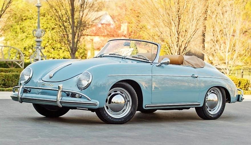 A 1959 Porsche 356/1600 S Convertible D will also go no reserve