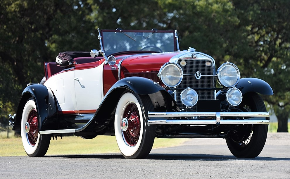 A 1929 Studebaker President roadster is powered by a straight-8 | Barrett-Jackson photos