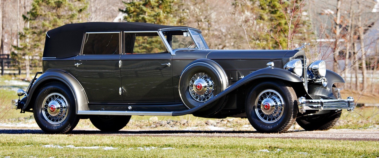 Al Jolson was first owner of this custom-bodied '32 Packard | Brian Henniker photo