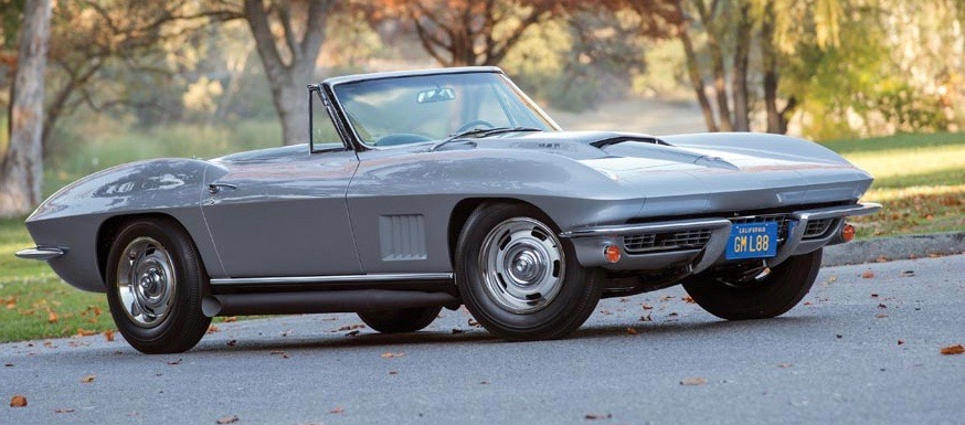 One of only 20 1967 L88 Corvette convertibles