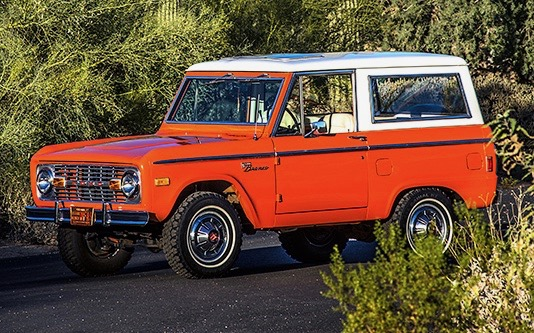 Broncos like this 1977 model, are soaring in popularity