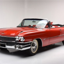 Countdown to Barrett-Jackson Scottsdale 2017: 1959 Cadillac Series 62 convertible