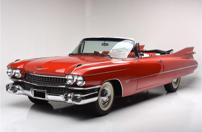 Countdown to Barrett-Jackson Scottsdale 2017: 1959 Cadillac Series 62 convertible