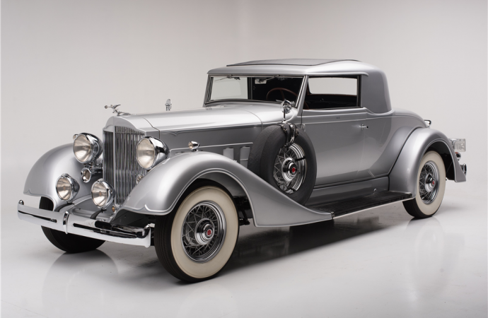 Countdown to Barrett-Jackson Scottsdale 2017: 1934 Packard Eight rumble seat coupe