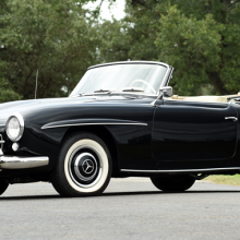 Countdown to Barrett-Jackson Scottsdale 2017: 1955 Mercedes-Benz 190SL Roadster