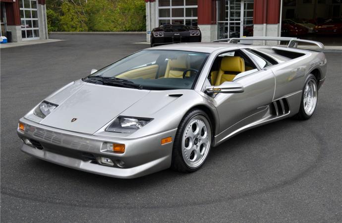 Countdown to Barrett-Jackson Scottsdale 2017: 1999 Lamborghini Diablo VT