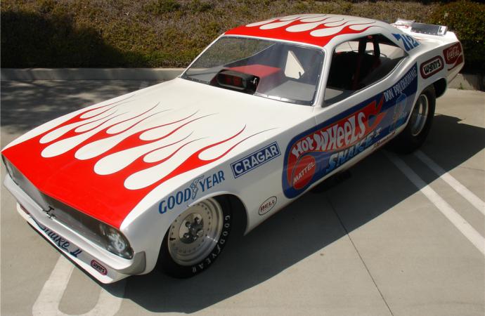 Countdown to Barrett-Jackson Scottsdale 2017: 1972 'Hot Wheels' Plymouth Barracuda Funny Car