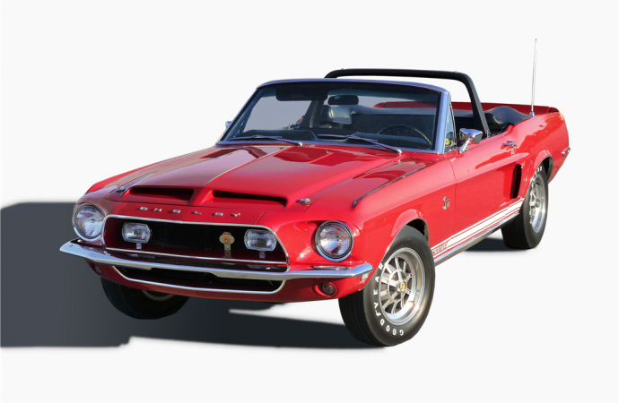 Countdown to Barrett-Jackson Scottsdale 2017: 1968 Shelby GT500 KR convertible