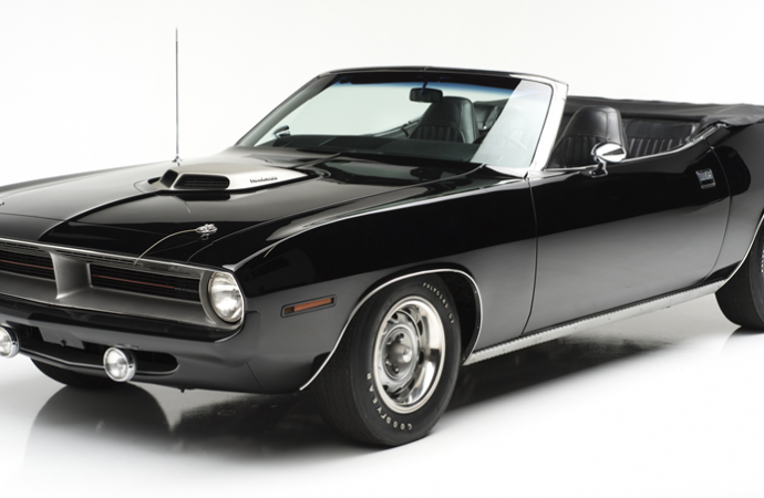 Countdown to Barrett-Jackson Scottsdale 2017: 1970 Plymouth Hemi 'Cuda convertible