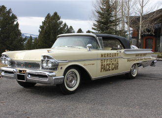 Countdown to Barrett-Jackson Scottsdale 2017: 1957 Mercury Turnpike Cruiser convertible pace car