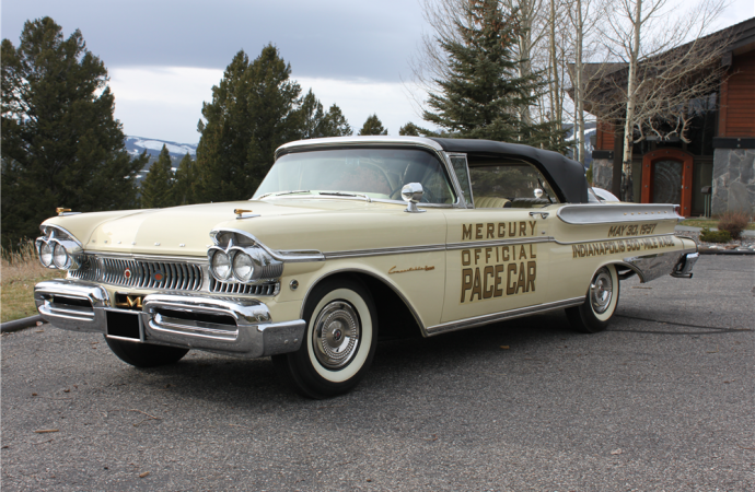 Countdown to Barrett-Jackson Scottsdale 2017: 1957 Mercury Turnpike Cruiser convertible pace car