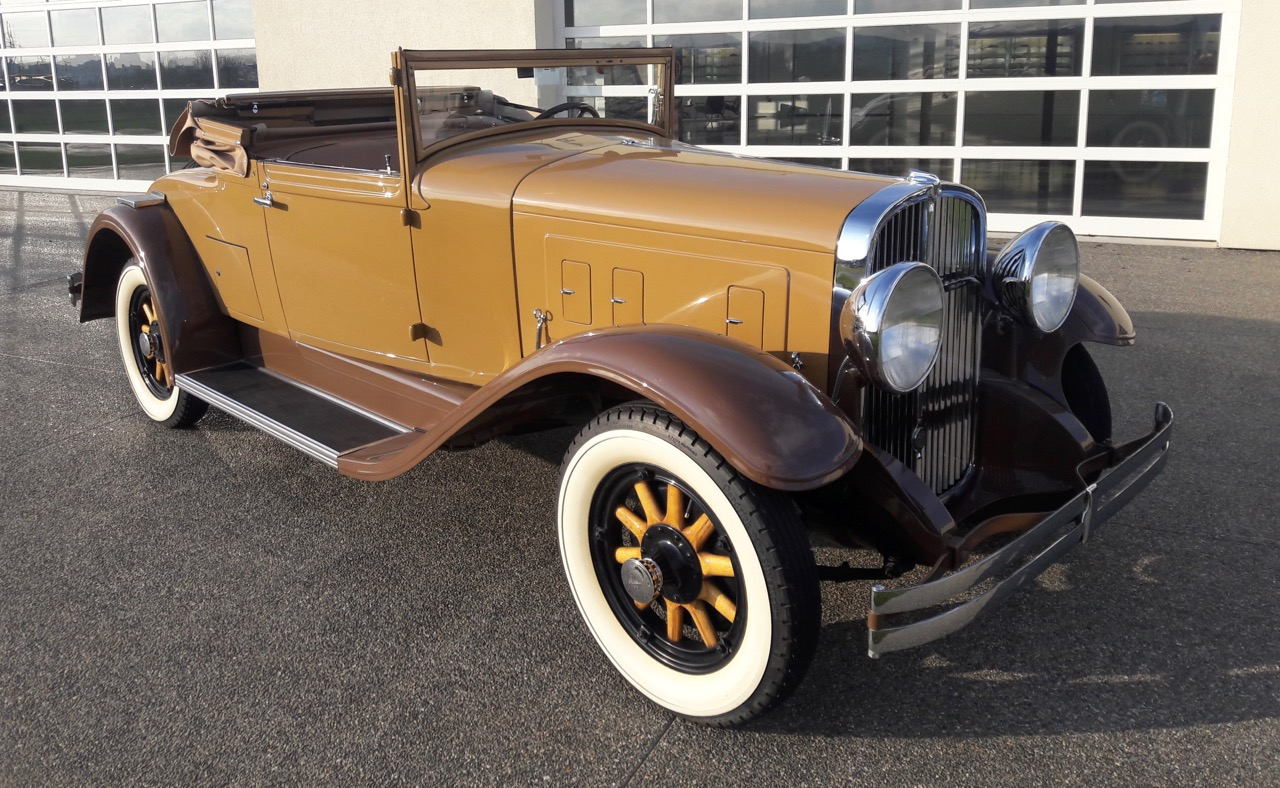 1931 Franklin provides air-cooled power, and driving experience as well Nick Kurczewski photos
