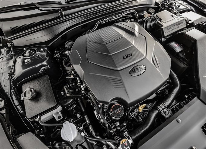 V6 pumps out 290 horsepower