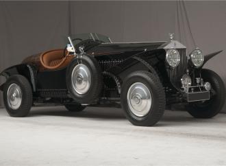 Countdown to Barrett-Jackson Scottsdale 2017: 1938 Rolls-Royce 25/30 custom Boattail Speedster