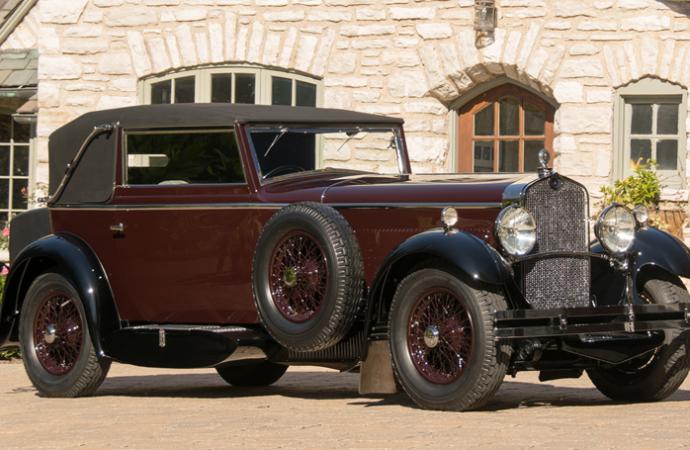 Countdown to Barrett-Jackson Scottsdale 2017: 1930 Delage D8 Cabriolet
