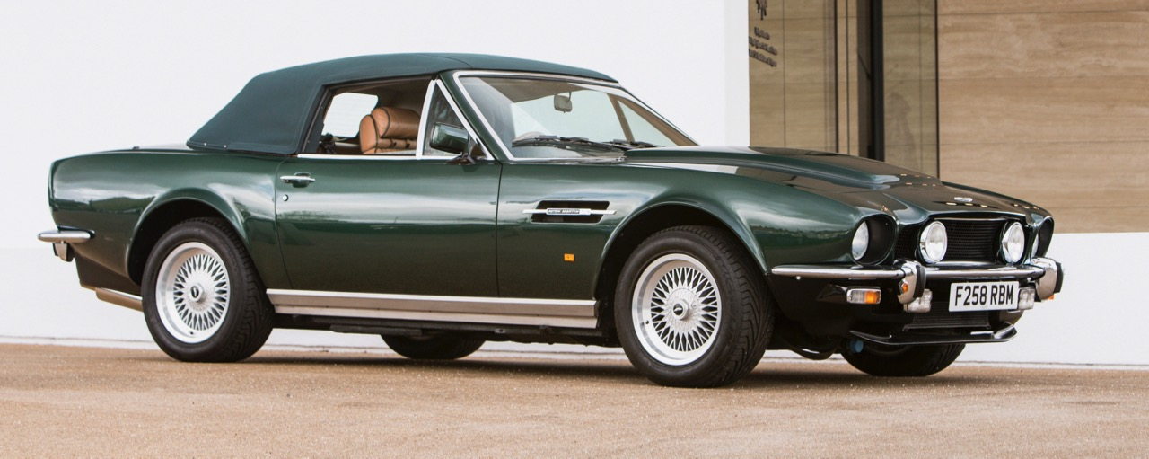 'Prince of Wales' Aston Martin was top sale