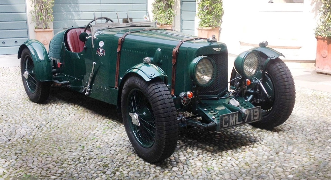 Aston Martin Ulster finished 10th at Le Mans in 1935 | Bonhams photos