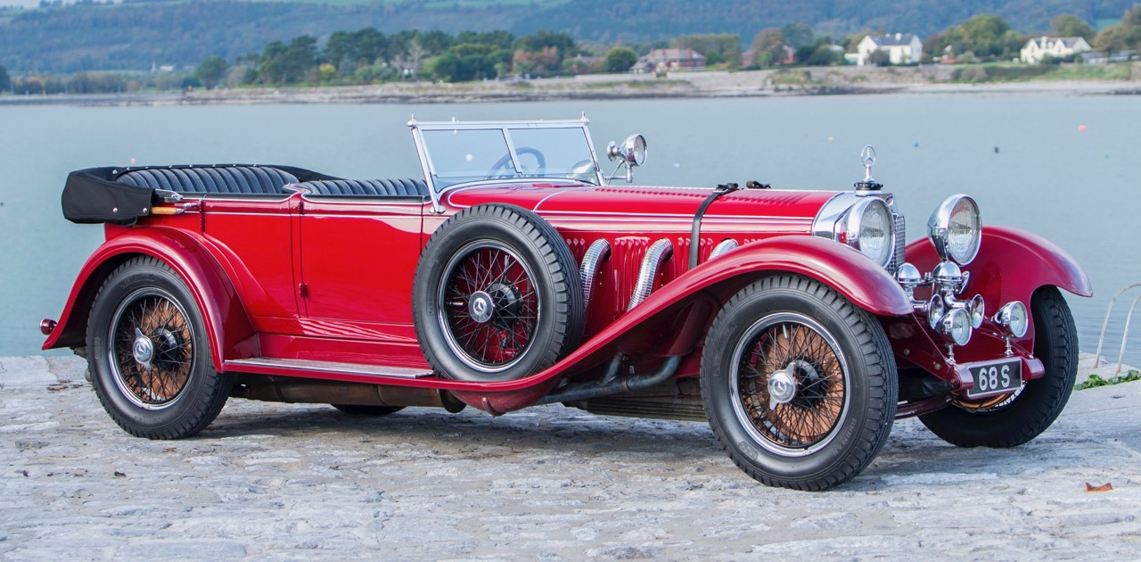 Erdmann & Rossi crafted coachwork for this 1928 Mercedes-Benz Type S 26/120/180 sports tourer | Bonhams photos