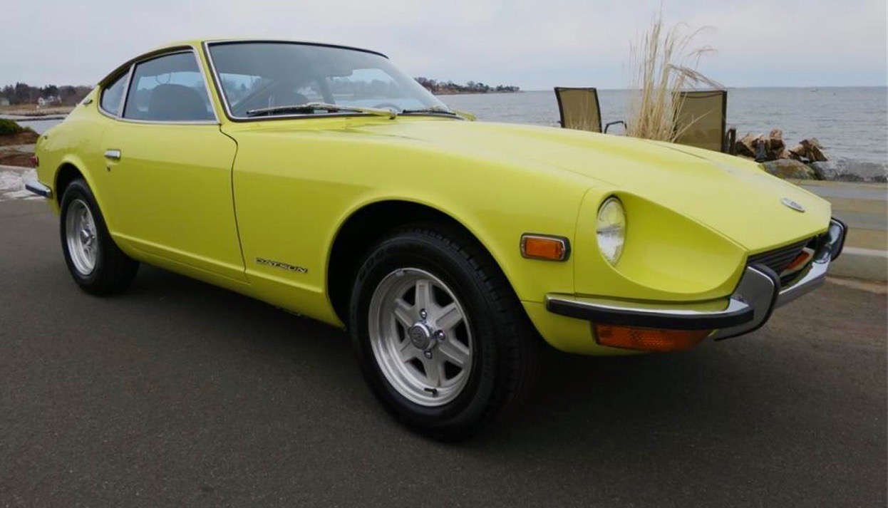Get your early (1970 model shown) 240Z