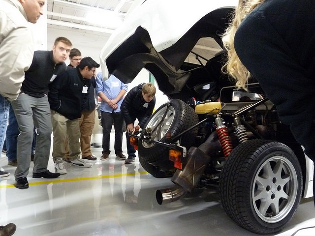Shop Hop gives students up-close look at automotive careers -- and more | RPM Foundation photos