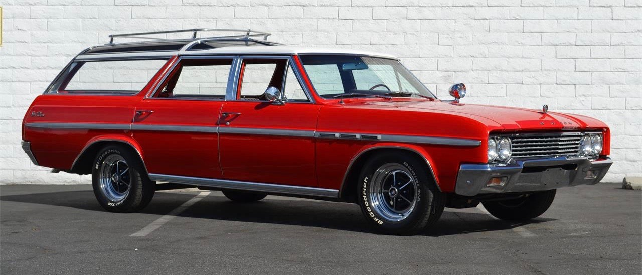 1960s American station wagons such as this '65 Buick, are No. 6 on Andy's better-buy-'em-now list