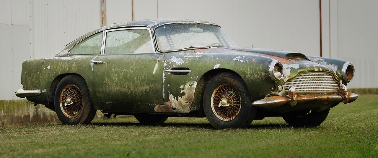 Baby You Can Drive My Car John Lennons SL Headed To Worldwide - Aston martin restoration project for sale