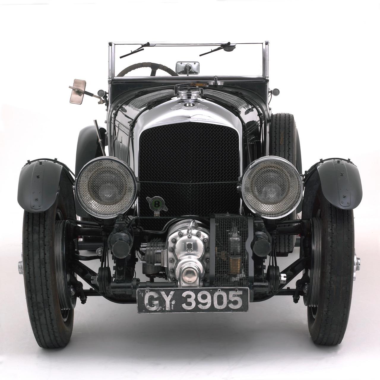 Supercharged 1930 Bentley 4 1/2 liter