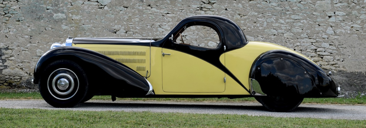 1933 Bugatti Type 57 Atalante is one of six produced