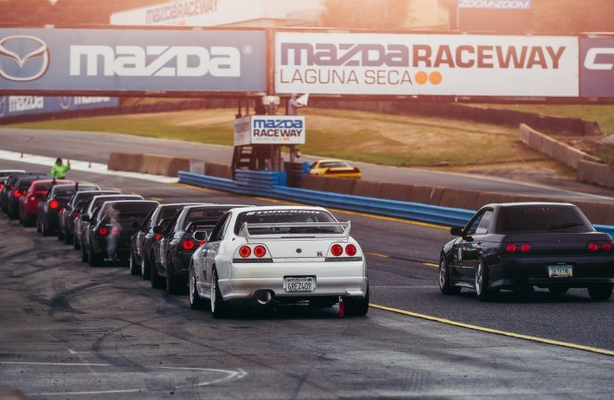 Skyline Syndicate's R's Day at Laguna Seca